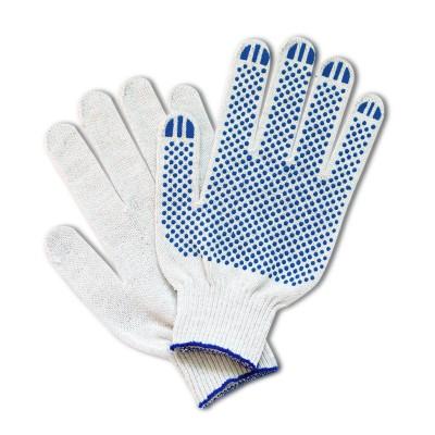 Перчатки х/б 6 нитей 10 класс с ПВХ покрытием