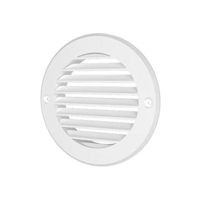 Решетка вентиляционная круглая пластиковая 12РК