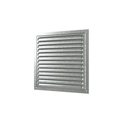 Решетка вентиляционная оцинкованная 1515МЦ