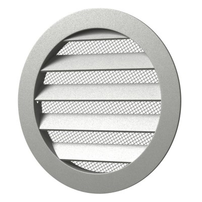 Вентиляционная решетка круглая алюминиевая 12РКМ