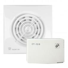 Вентилятор вытяжной Soler Palau KIT SILENT-100 CZ 12V+CT-12/14 с трансформатором