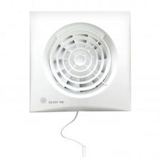 Вентилятор вытяжной Soler Palau SILENT-100 CMZ с шнуровым выключателем