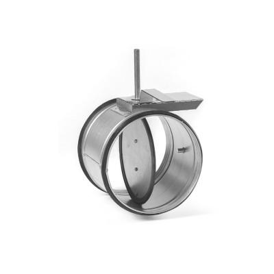 Клапан воздушный круглый KVK125