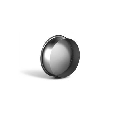 Заглушка круглая оцинкованная d100