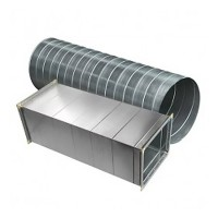 Оцинкованные воздуховоды трубы и фасонные изделия